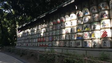 Des barils de saké !