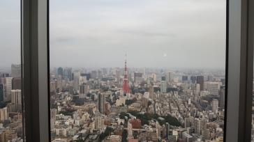 Vue sur la Tokyo Tower