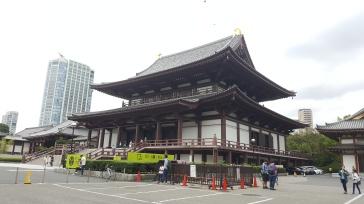 Le temple Zojo-ji